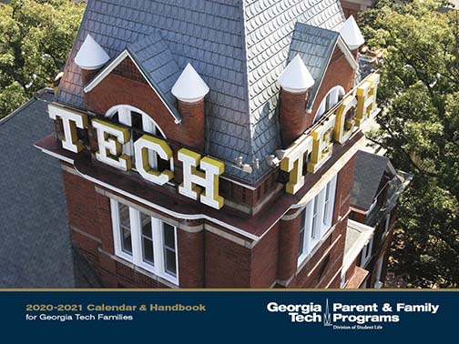 Georgia Tech Family Calendar 2020 2021